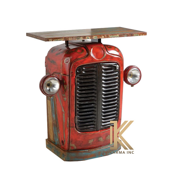 industrial automobile console table