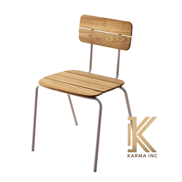 industrial chair wooden top
