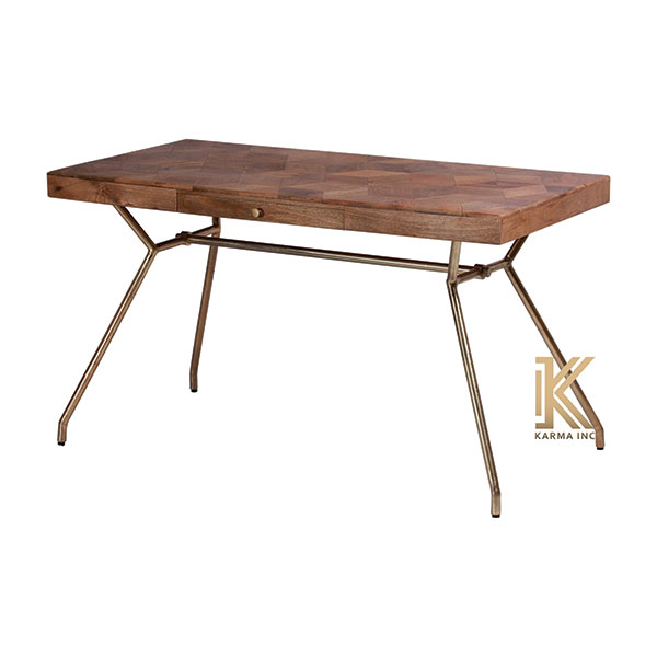 industrial wooden top dinning