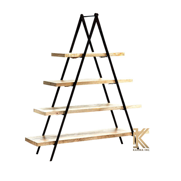 industrial shelves triangle style
