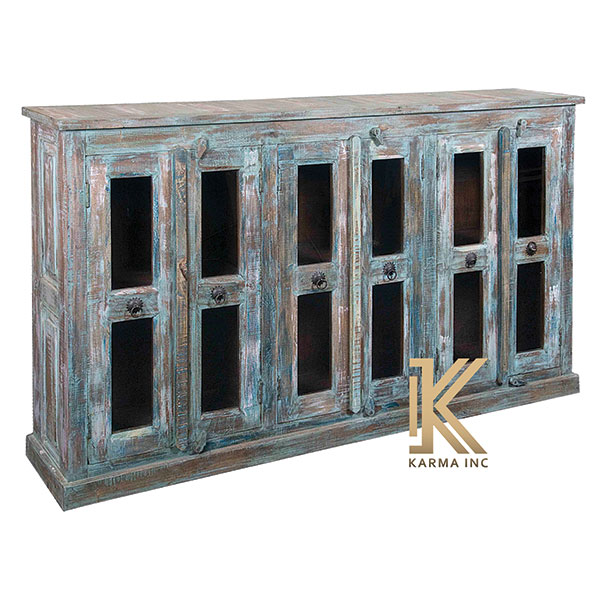 karma inc wooden reclaimed sideboard