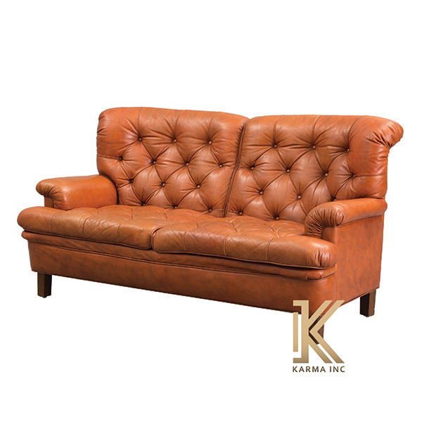 leather Upholstered sofa
