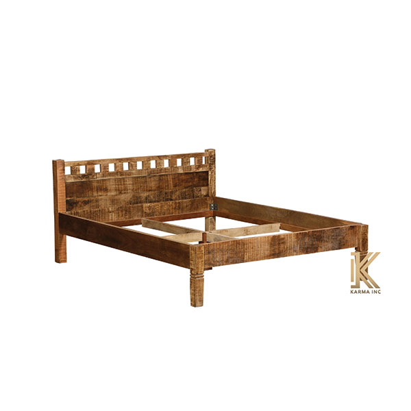 mango wood bed