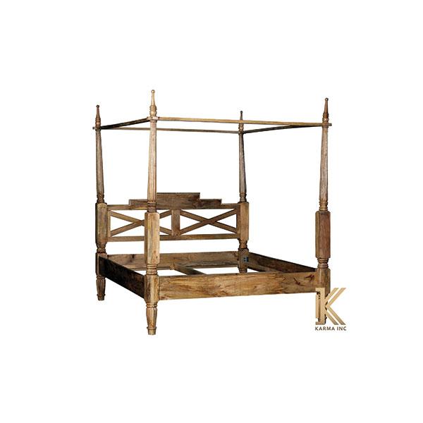mango wooden bed