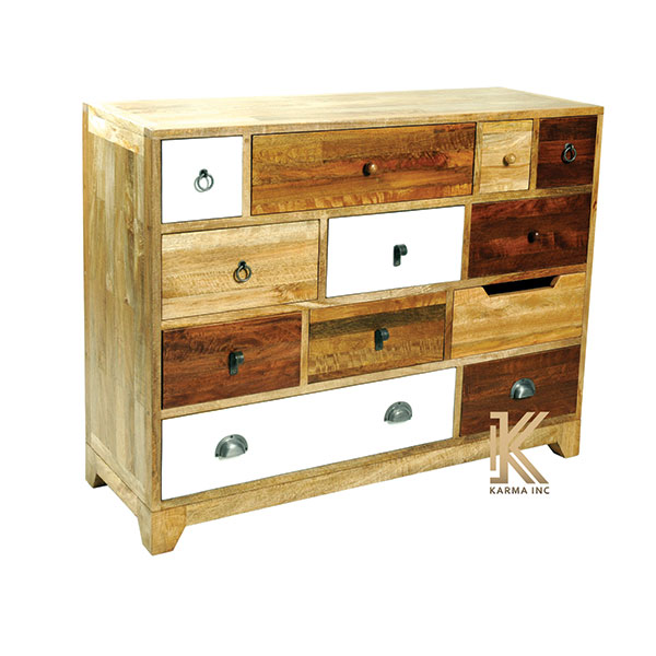 wooden chest multi drawers