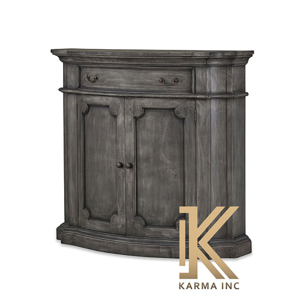 wooden dark mini sideboard