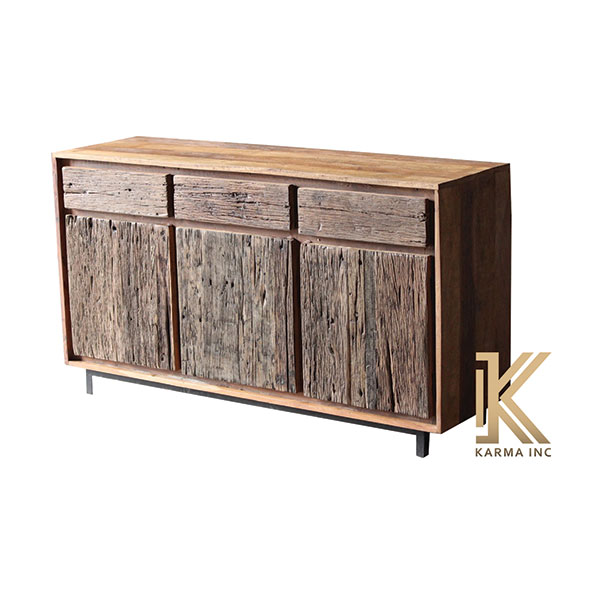 sleeper wood sideboard