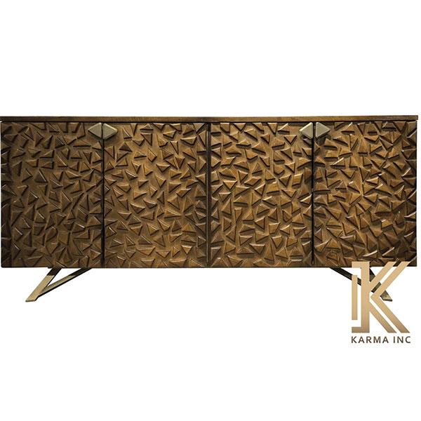 modern wooden sideboard